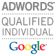 Google Adwords Qualified Individual, Google, Adwords, Advertising on Google, Advertise, Online Advertising